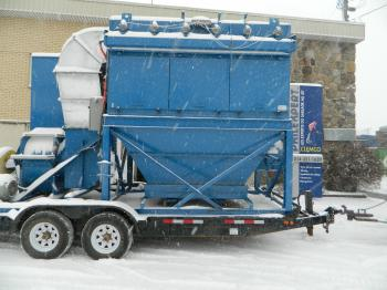 Portable Dust Collector 15 000 CFM (Rental Available)